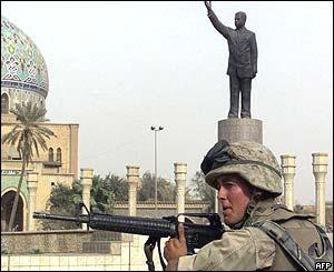 Marine in Baghdad